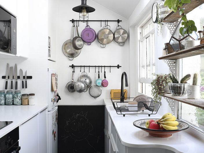 A Tiny Kitchen In London